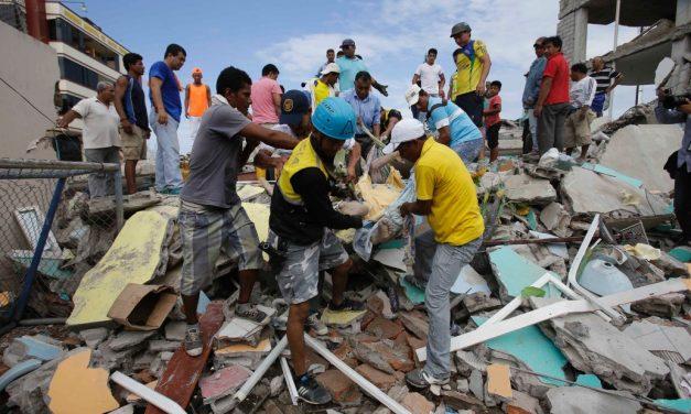 MercyWorks Responds to Ecuador Disaster