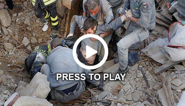 Powerful Earthquake Hits Italy